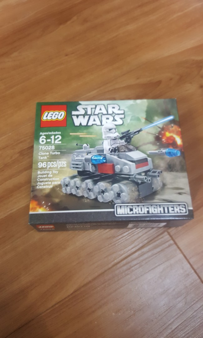 LEGO 75151 Clone Turbo Tank STAR WARS new in sealed box RETIRED NEW