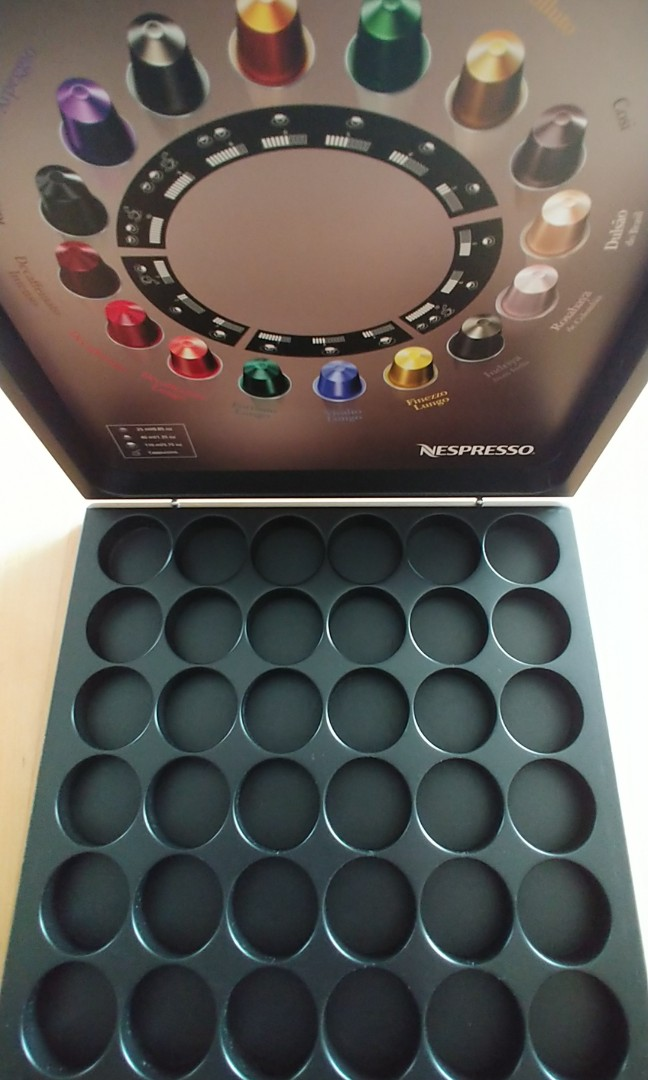 NEW NESPRESSO WOODEN BOX EXCLUSIVE!