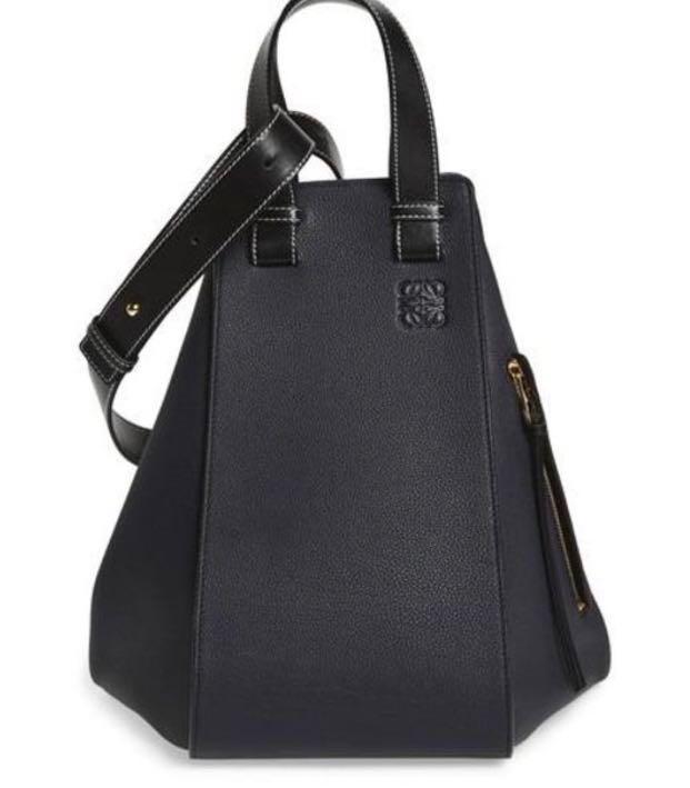 078f325d402d Loewe Small Hammock Bag in Midnight Blue