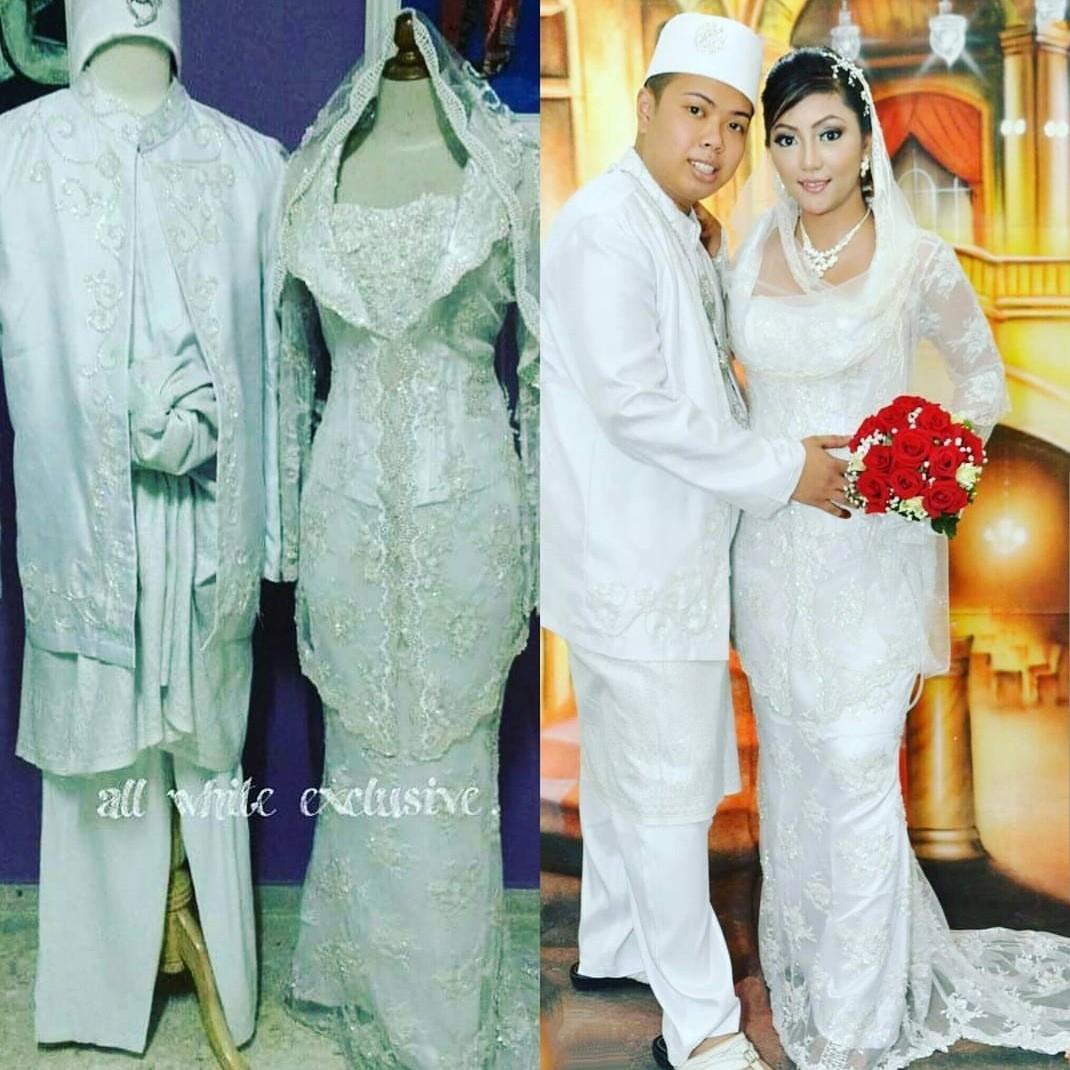 Malay Bridal Wear Baju Pengantin Mak Andam Baju Nikah Women S Fashion Clothes Dresses Skirts On Carousell