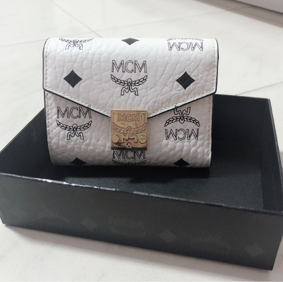 e99981a26108f2 MCM wallet, Luxury, Bags & Wallets, Wallets on Carousell