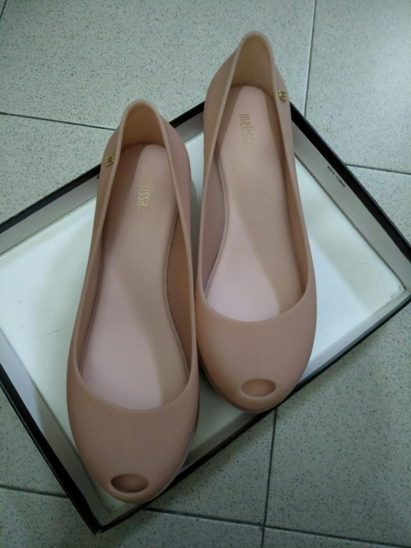 2916dc9d6cd7 Melissa Ultragirl Platform Shoes light pink