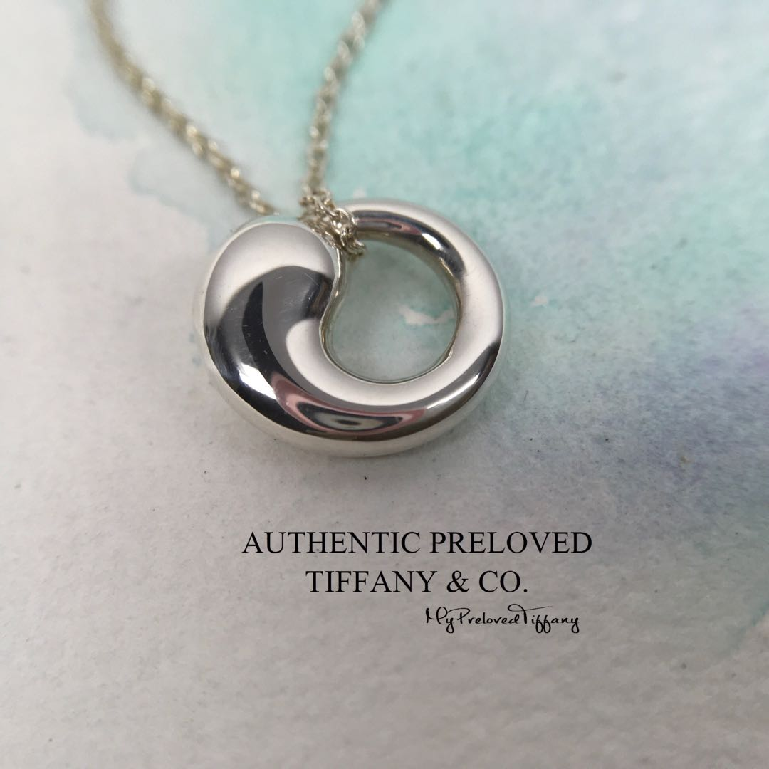 ddd187ac6 Mint Authentic Tiffany & Co. Elsa Peretti Small Eternal Circle Necklace  Silver 65% off Retail, Women's Fashion, Jewellery, Necklaces on Carousell