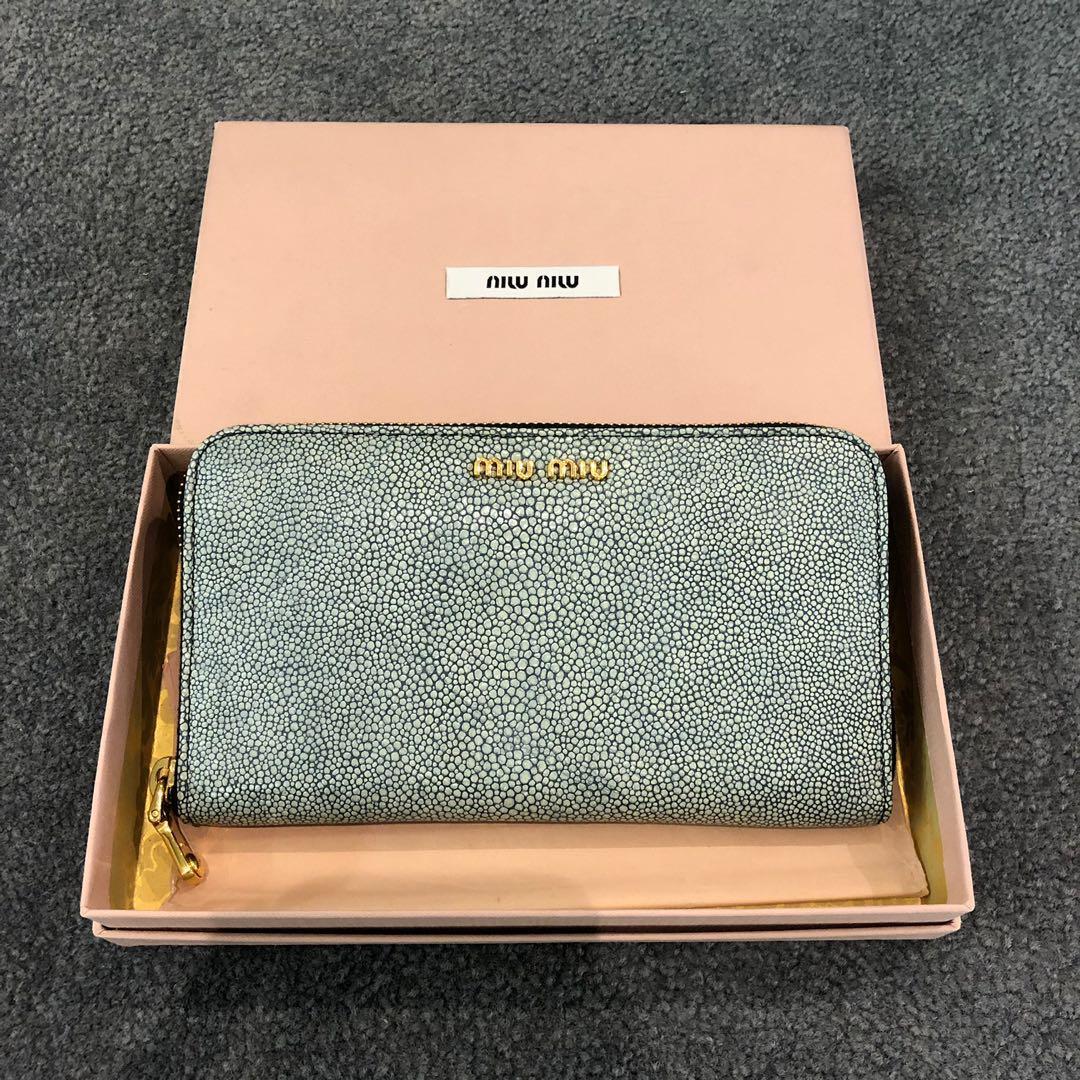 5c4a5f0d6426 Miu Miu Zippy Wallet