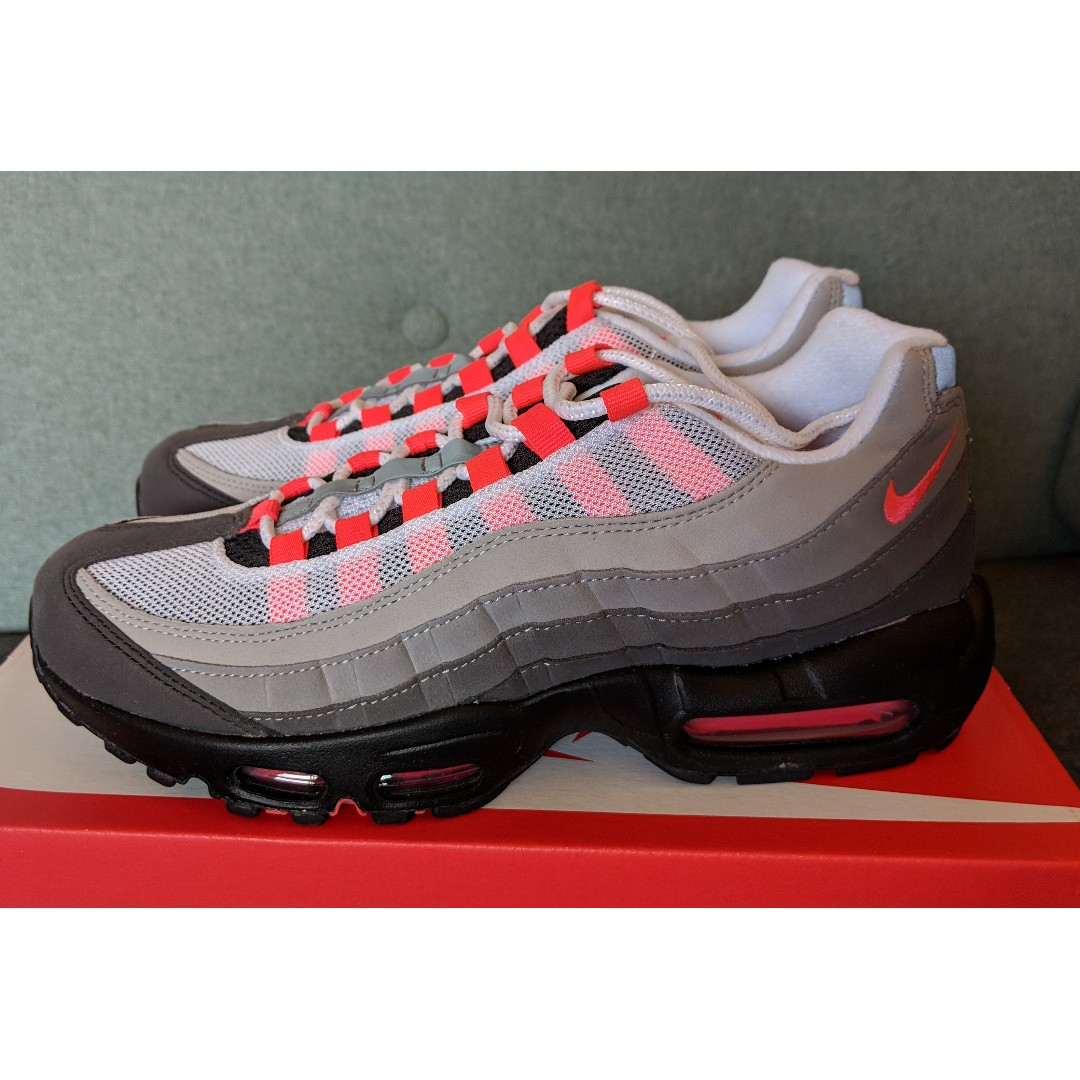 buy online 6141c 4f97f Nike Air Max 95 OG Red Grey (US 8 / EU 41 / UK7)