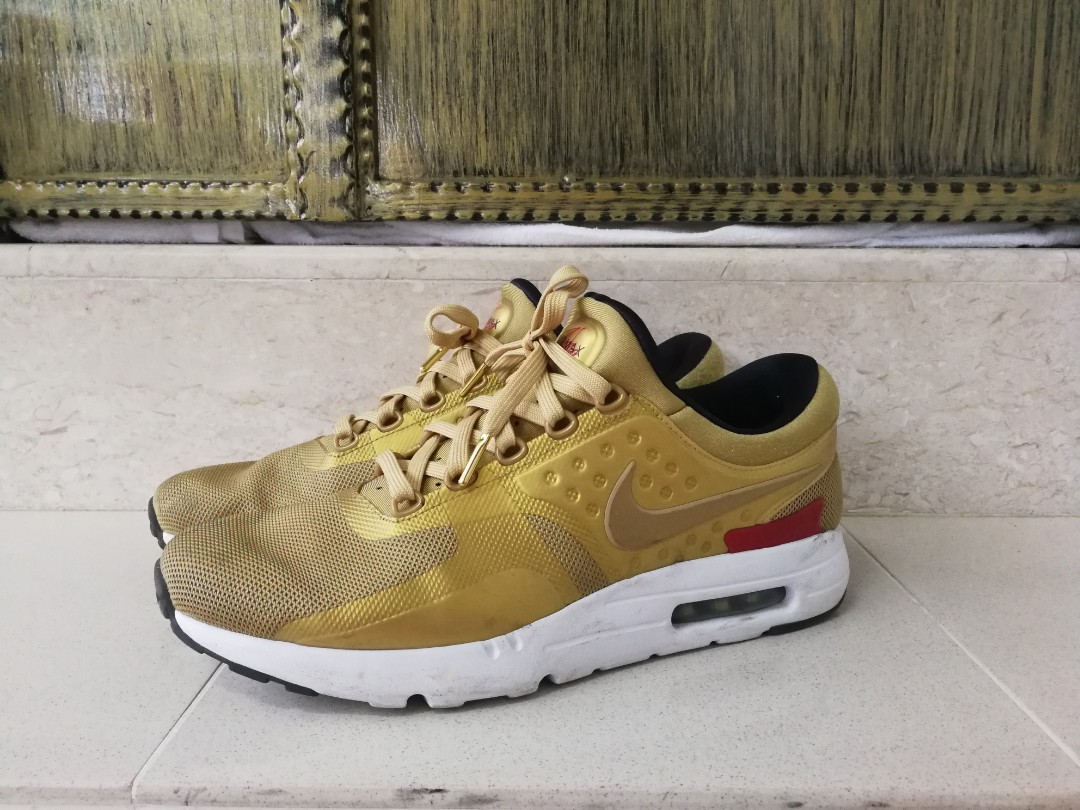 check out fff31 0a20c Nike Air Max Zero Gold, Men s Fashion, Footwear, Sneakers on Carousell