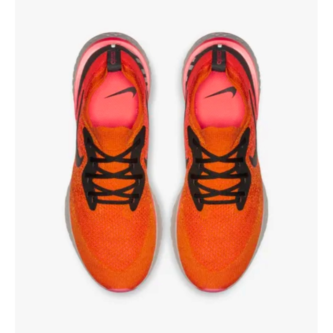 76b9779a27db1 Nike Epic React Flyknit Copper Crimson