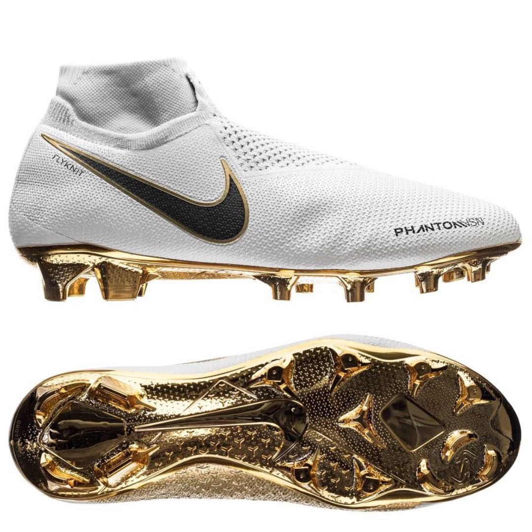 385c8d21d89a Nike Phantom Vision Gold Limited Edition (US7) Football Boots ...