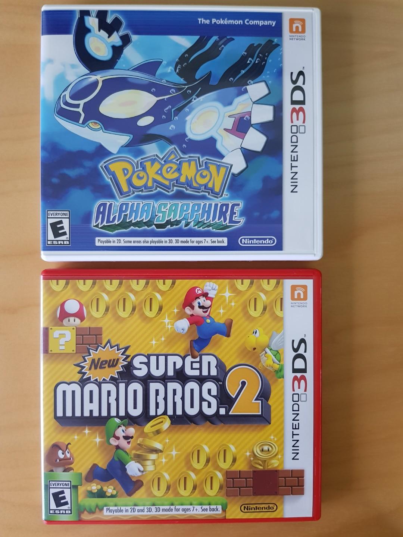Pokemon Alpha Sapphire & New Super Mario Bros 2, Toys
