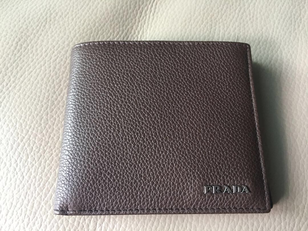 c2505e3b1089 Prada Men Wallet, Men's Fashion, Bags & Wallets, Wallets on Carousell