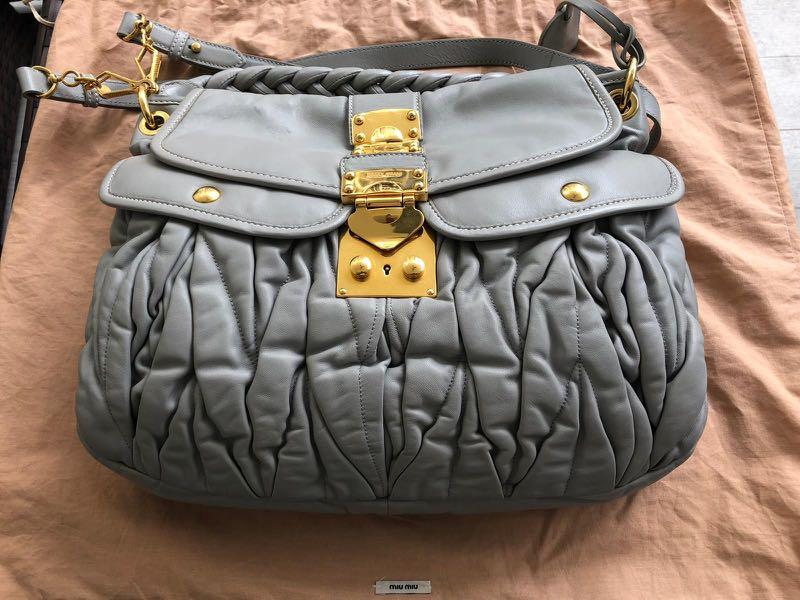 733f9de5ab7e Preloved Miu Miu Handbag