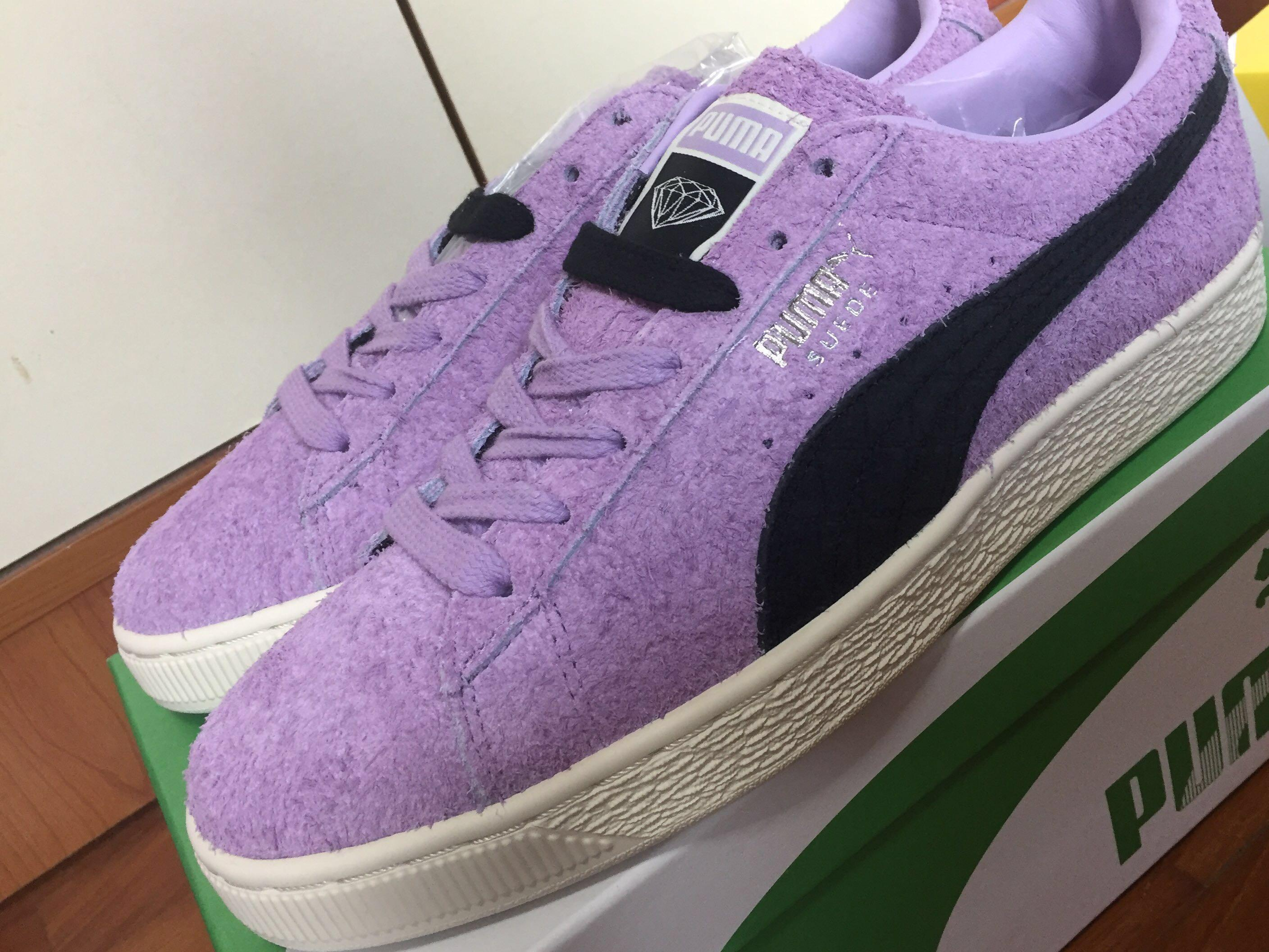 PUMA X DIAMOND SUPPLY CO. SUEDE, Luxury, Shoes on Carousell