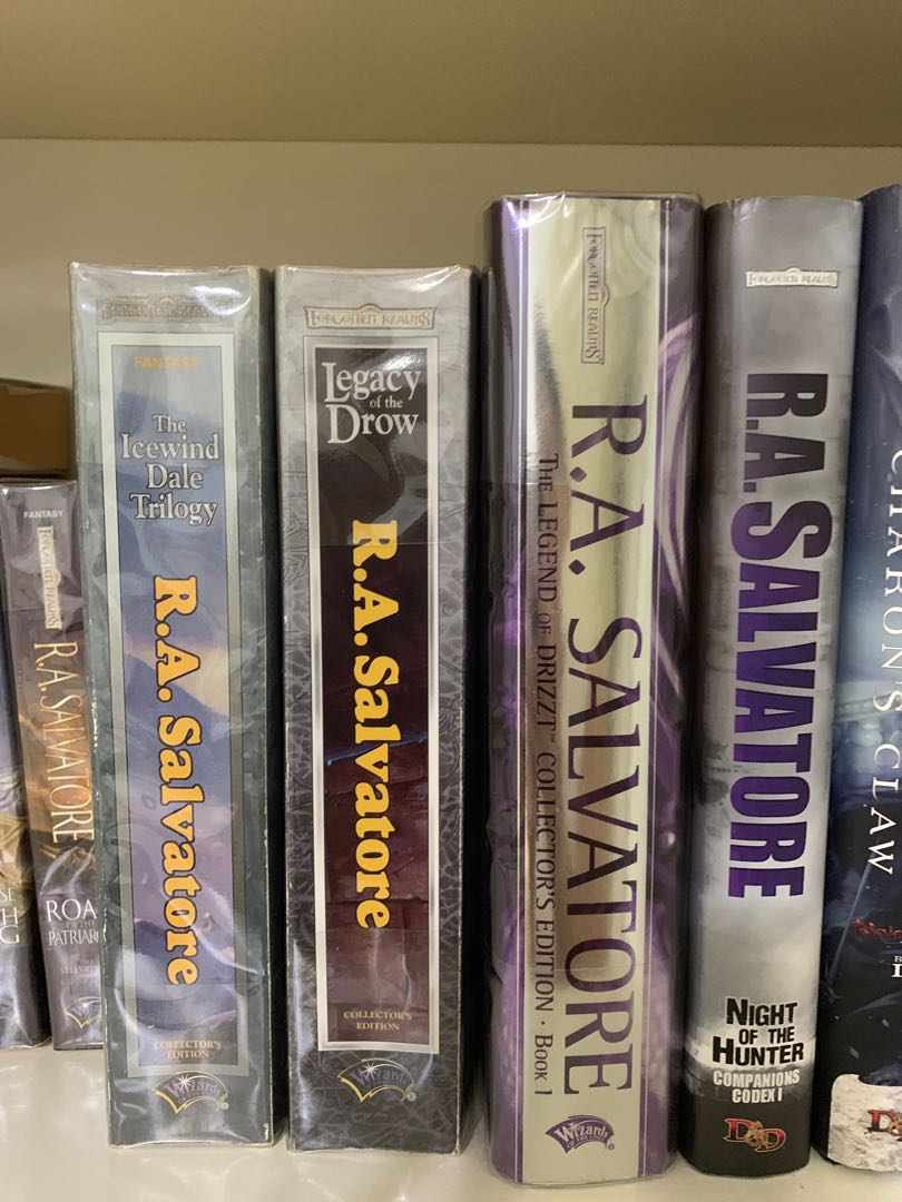 R A Salvatore Fictions