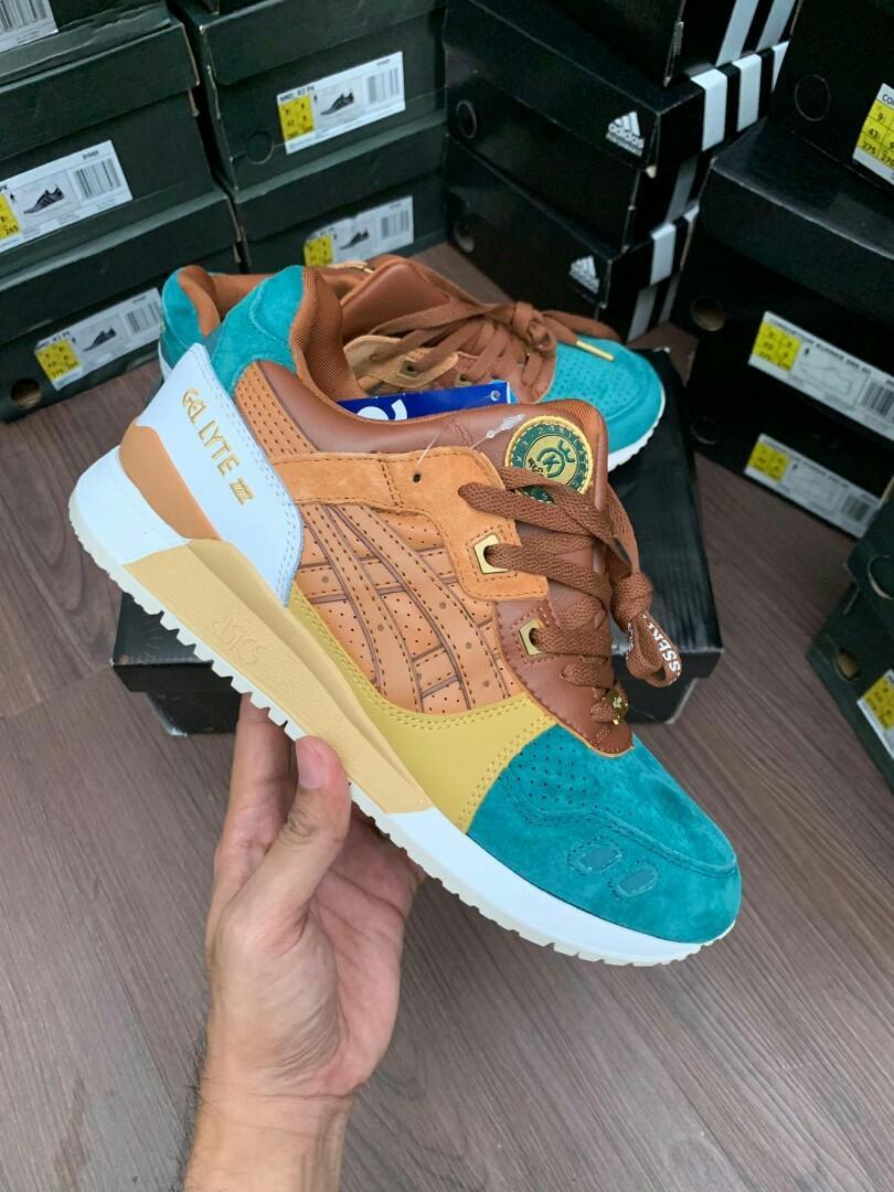 online store 66d82 71c0d Sepatu Asics Gel lyte III 24 Kilates, Men's Fashion, Men's ...