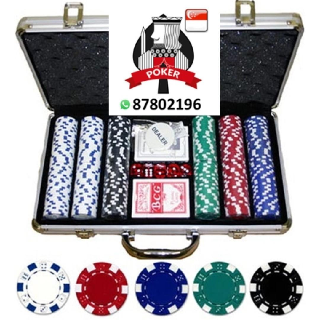 Sg Poker King Poker Chips Toys Games Others On Carousell