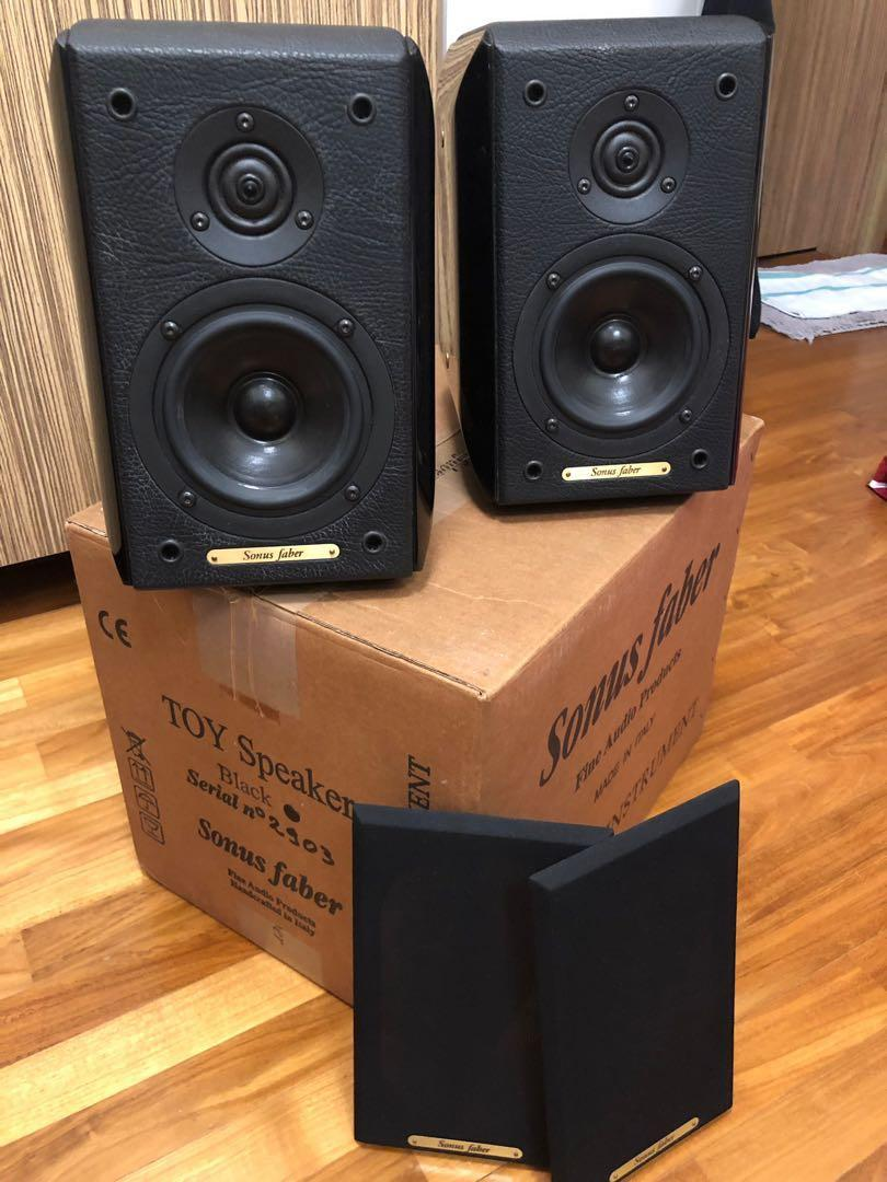 Sonus Faber Toy Monitor (price reduced), Electronics, Audio