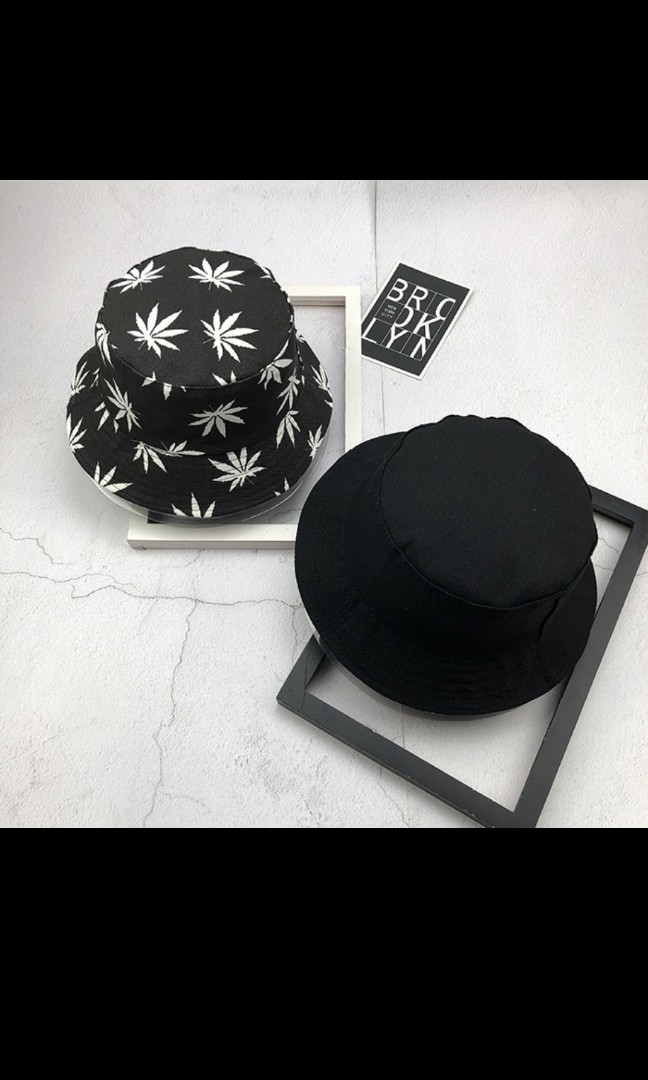 23c74e85561  SOLD  Street style - duo side bucket hat