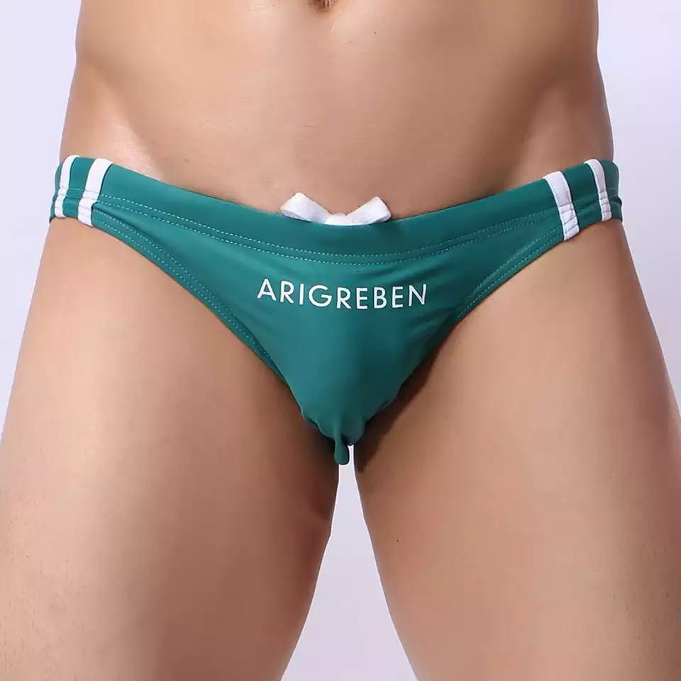 5e2855051a Ultra low waist swimming trunk, Men's Fashion, Clothes, Bottoms on ...