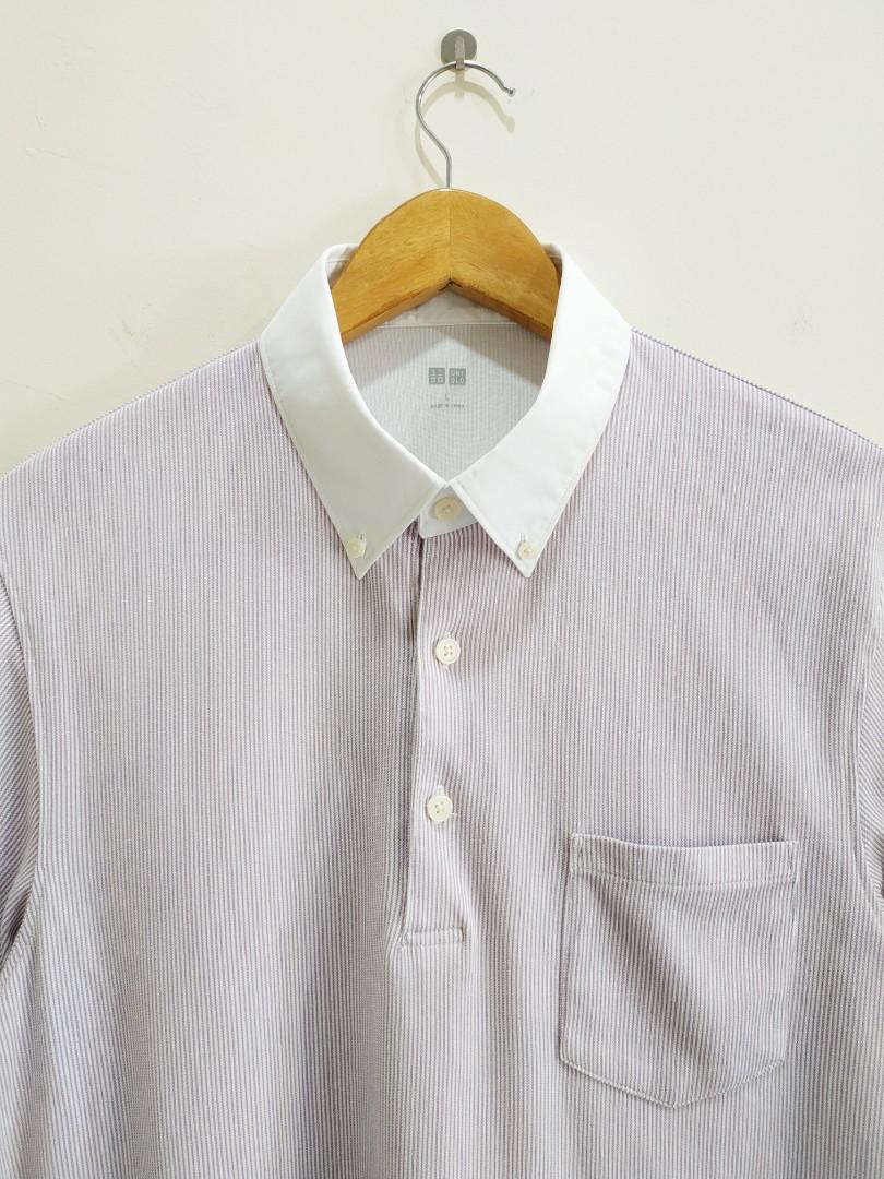 Uniqlo Button Down Collar Tee
