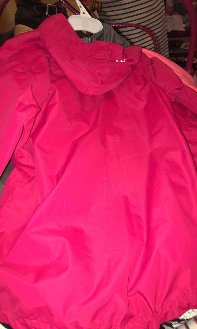Vigilante rain jacket