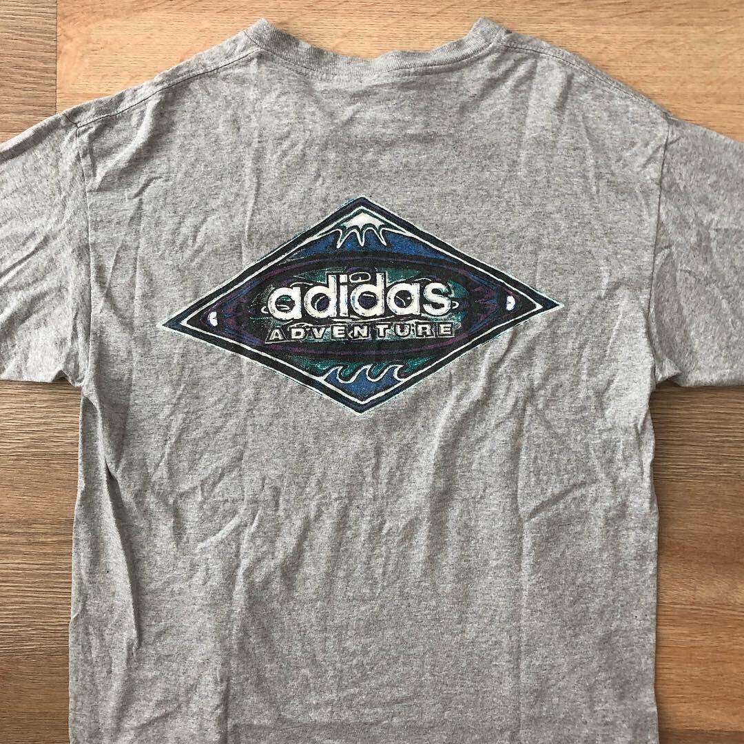 a57f184e44b Vintage Adidas Adventure Tshirt Size Fits L