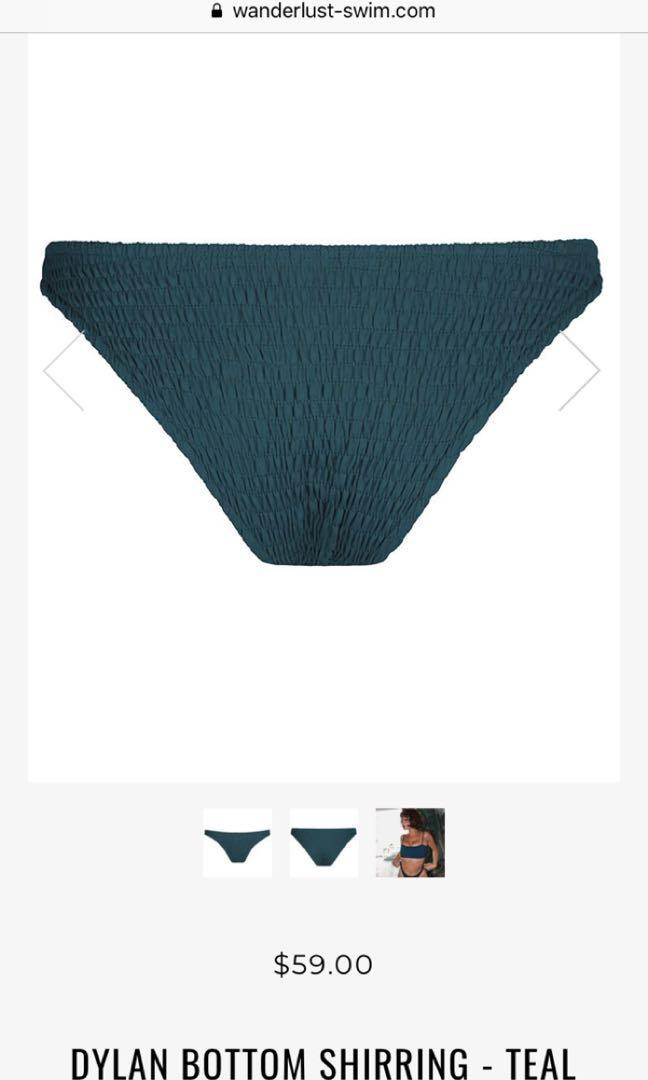Wanderlust bikini swimmers - size small - new with tags
