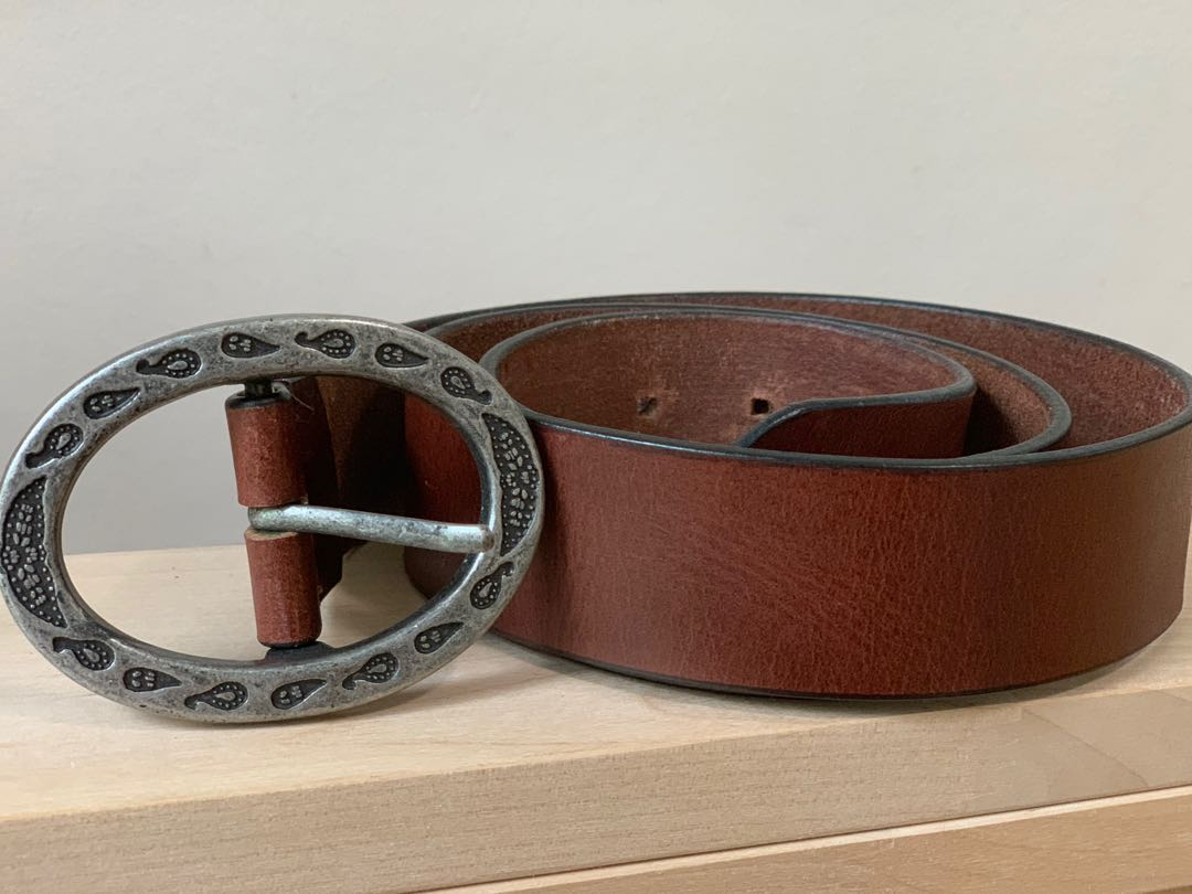 72d8fb10ba18 Women brown leather women s belt. UK 10-14