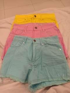Wts High Waist Shorts