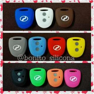 Perodua AXIA (Old) 2 Buttons Silicone Key Alarm Remote Cover Casing
