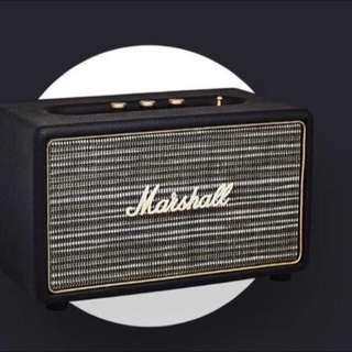 Marshall Acton wireless Bluetooth speaker, black
