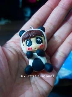 Chibi doll keychains
