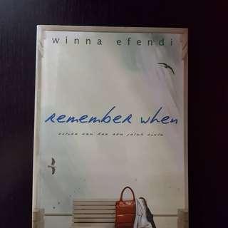 Winna Efendi - Remember When