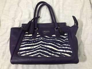 COACH full leather handbag
