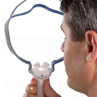 🚚 ResMed Cpap AirFit P10 Nasal Pillow CPAP Mask with Headgear