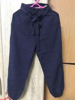 dark blue cargo pants/ culottes