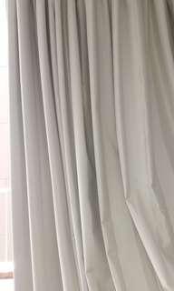 Cashmere Pencil Sun-Out curtains