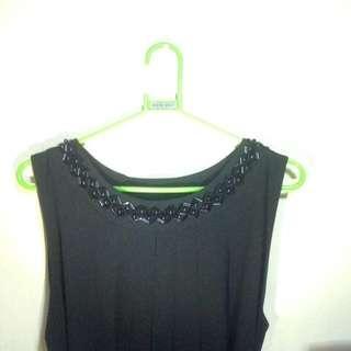 Black Long Dress/ Long Gown