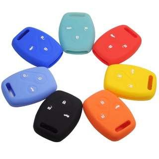 Honda City, Civic, Jazz Silicone Key Alarm Cover Casing 3 Buttons