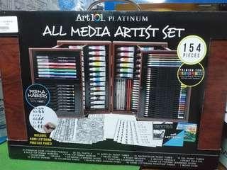 🚚 Art 101 藝術繪畫顏料組 154件入