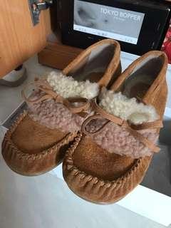 日本毛毛鞋