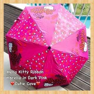 *IN STOCK IN SG* Hello Kitty Ribbon Umbrella