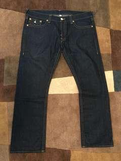 True Religion Dark Wash Jeans