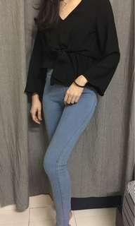 Fashion long sleeve blouse