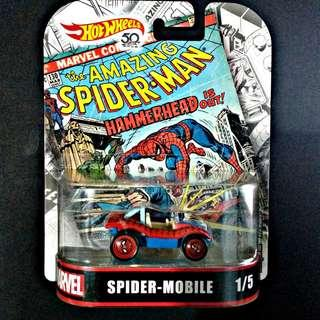 Hot Wheels Marvel Spiderman