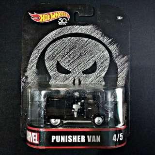 HotWheels Marvel Punisher Van