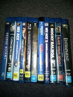 11 Blu-ray Films! All for $25
