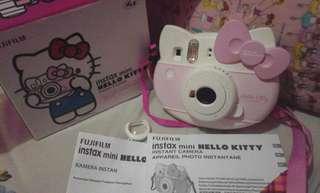 instax + refill polaroid hello kitty