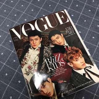 Vogue Magazine featuring #EXO. #EXO pictures worth of 20+ pages 😍😍