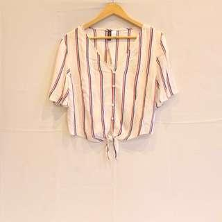 H&M stripes shirt