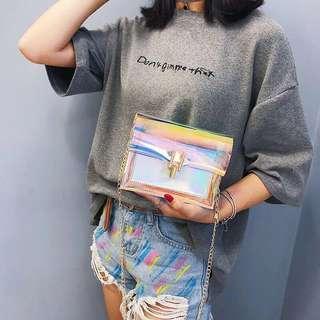 Iridescent Mini Sling bag